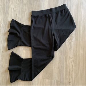 BP Bell Bottom Crop Pants Hugh Waist Sm